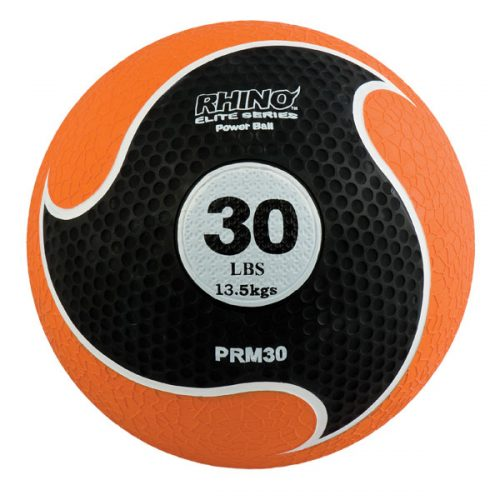 Champion Sports PRM30 30 lbs Rhino Elite Medicine Ball Orange