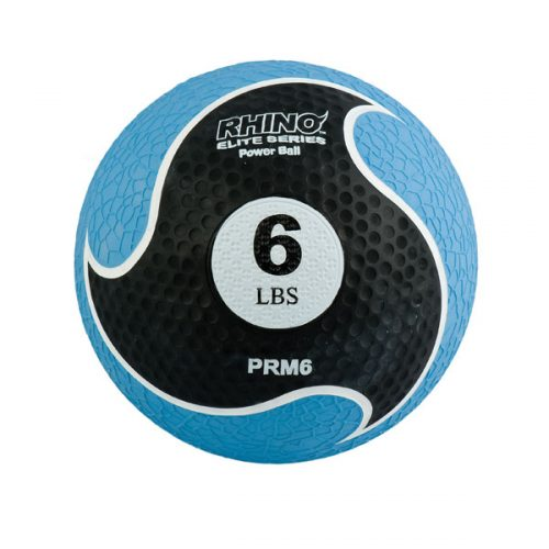 Champion Sports PRM6 6 lbs Rhino Elite Medicine Ball Blue