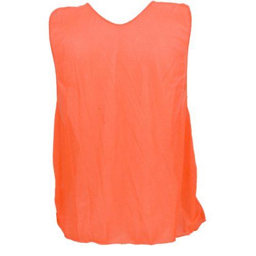 Champion Sports PSAOR Adult Practice Vest Fluorescent Orange