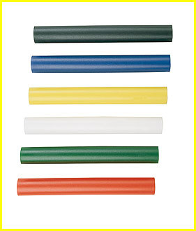 Champion Sports RBPLYL Plastic Relay Baton Yellow