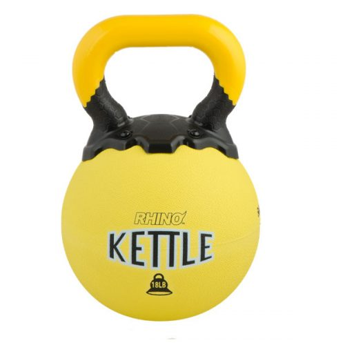 Champion Sports RKB18 18 lbs Rhino Kettle Bell Yellow