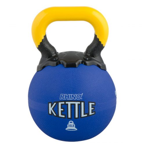 Champion Sports RKB30 30 lbs Rhino Kettle Bell Blue