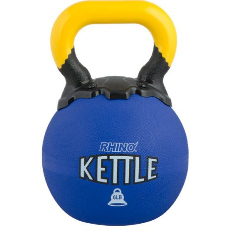 Champion Sports RKB6 6 lbs Rhino Kettle Bell Blue