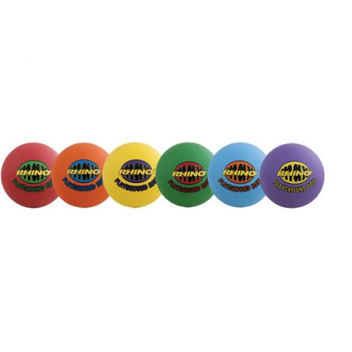 Champion Sports RMXPGSET 8.5 in. Rhino Max Playground Ball Set Multicolor - Set of 6