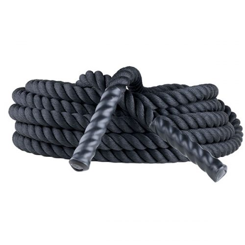 Champion Sports RPT1540 1.5 in. x 40 ft. Rhino Poly Training Rope Black
