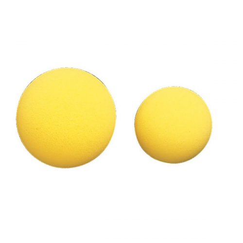 Champion Sports RS27 2.75 in. Rhino Skin Uncoated Foam Ball Yellow