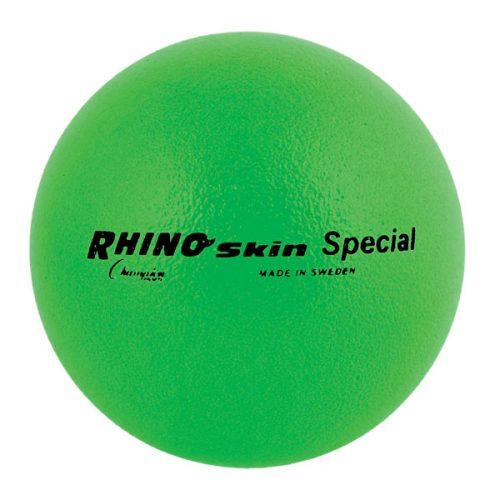 Champion Sports RS85NGN 8.5 in. Rhino Skin Ball Neon Green