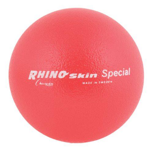 Champion Sports RS85NRD 8.5 in. Rhino Skin Ball Neon Red