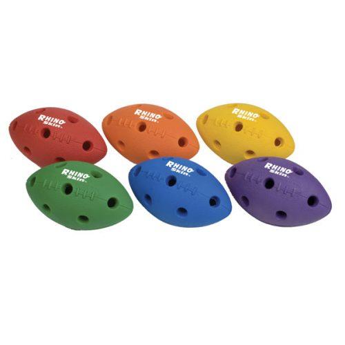 Champion Sports RSHFSET Rhino Skin Mini Football Set Multicolr - Set of 6
