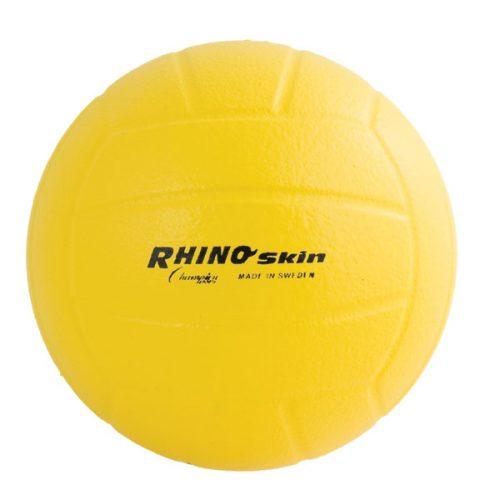 Champion Sports RSVB 8 in. Rhino Skin Molded Foam Ball Yellow