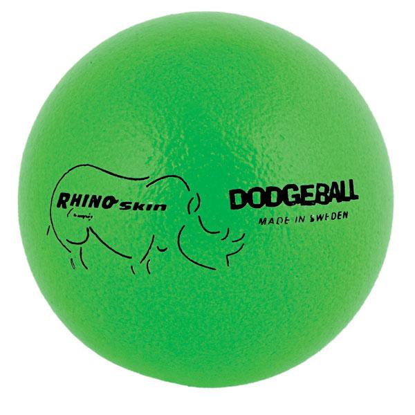 Champion Sports RXD6NGN 6.3 in. Rhino Skin Ball Neon Green