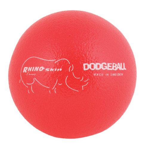 Champion Sports RXD6NRD 6.3 in. Rhino Skin Ball Neon Red