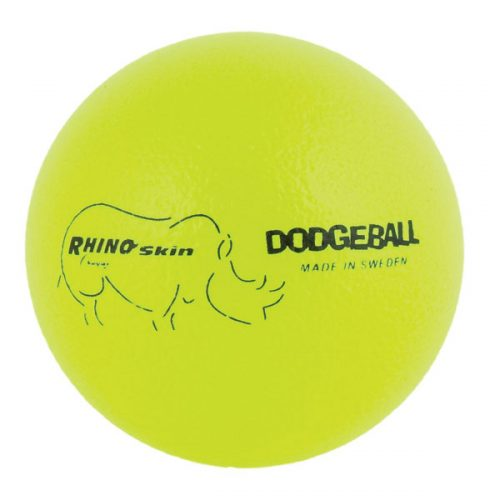 Champion Sports RXD6NYL 6.3 in. Rhino Skin Ball Neon Yellow