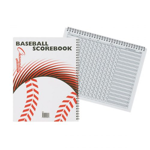 Champion Sports SC1 Baseball Softball Tee Scorebook