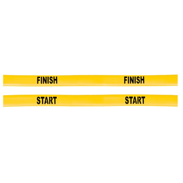 Champion Sports SFLINESET Poly Start & Finish Line Set Optic Yellow