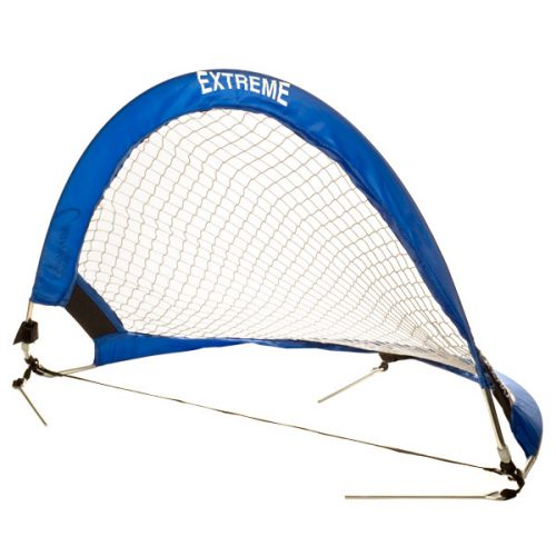 Champion Sports SG3018 Extreme Soccer Portable Pop Up Goal Blue & White