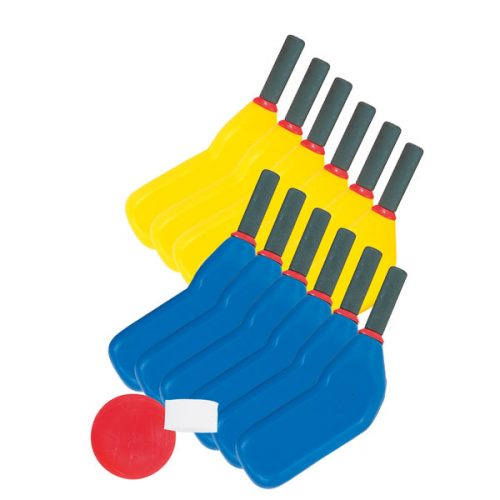 Champion Sports SHSET Rhino Skin Scooter Hockey Set Multicolor