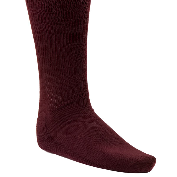 Champion Sports SK1MR Rhino All Sport Sock Maroon - Small