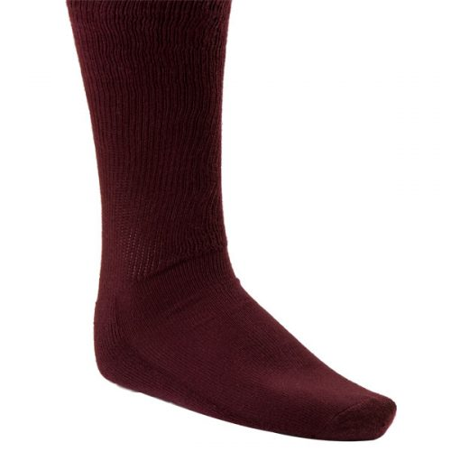 Champion Sports SK3MR Rhino All Sport Sock Maroon - Large