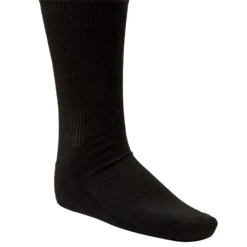 Champion Sports SK4BK Rhino All Sport Sock Black - Extra Large