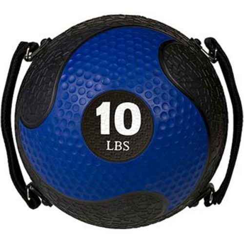 Champion Sports SMD10 10 lbs Rhino Ultra Grip Medicine Ball Blue