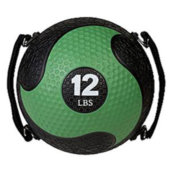 Champion Sports SMD12 12 lbs Rhino Ultra Grip Medicine Ball Green