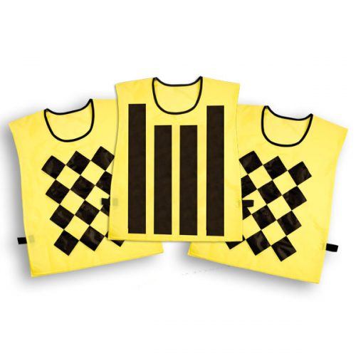 Champion Sports SP3SET Sideline Official Pinnies - Set of 3