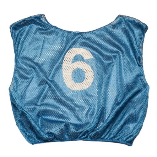 Champion Sports SVMWNBL Practice Numbered Adult Scrimmage Vest Royal Blue