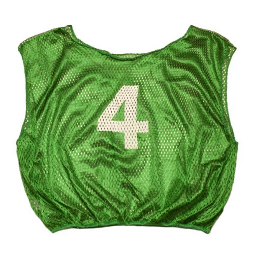 Champion Sports SVMWNGN Practice Numbered Adult Scrimmage Vest Green