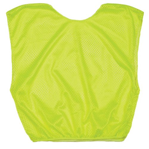 Champion Sports SVYNYL Practice Youth Scrimmage Vest Neon Yellow