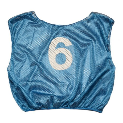 Champion Sports SVYWNBL Practice Numbered Youth Scrimmage Vest Royal Blue
