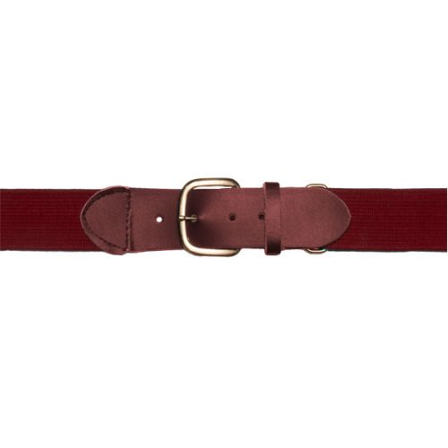 Champion Sports UBYMR Youth Baseball & Softball Uniform Belt Maroon