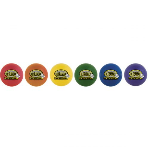 Champion Sports URS6SET 6 in. Rhino Skin Ultramax Ball Set Rainbow Color - Set of 6