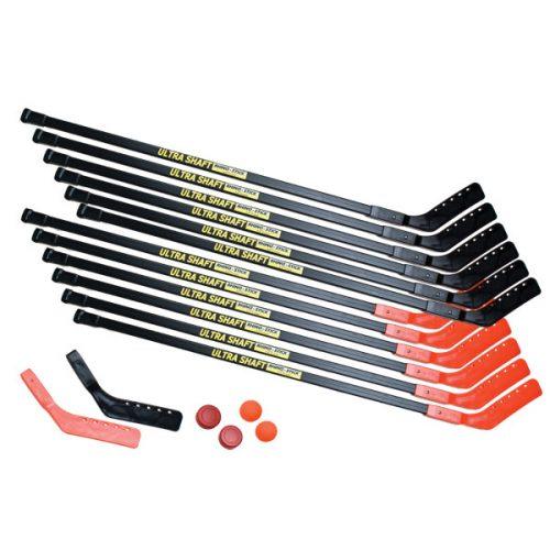 Champion Sports US52SET 52 in. Ultra Shaft Hockey Set