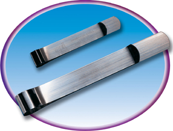 Charles Leonard CHL87214 36-Ct Bankers Clamps 3 0.25 Lenght Small