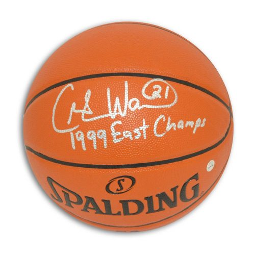 "Charlie Ward New York Knicks Autographed Indoor / Outdoor Basketball Inscribed ""1999 East Champs"
