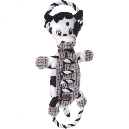 Charming Pet 61170 Cow - Ropes-A-Go-Go Pet Toy