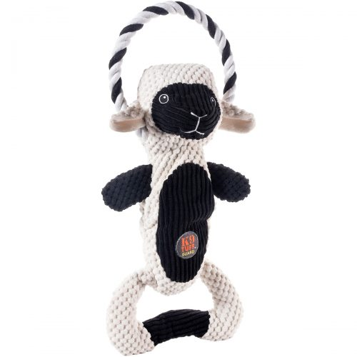 Charming Pet 627 Lamb Scrunch Bunch Pet Toy