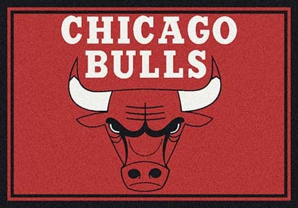 "Chicago Bulls 3' 10"" x 5' 4"" Team Spirit Area Rug"