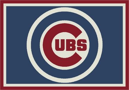 "Chicago Cubs 3'10"" x 5'4"" Team Spirit Area Rug"