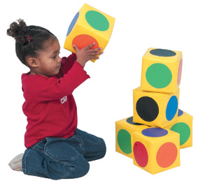 Childrens Factory CF322-145 Match The DotsBlocks