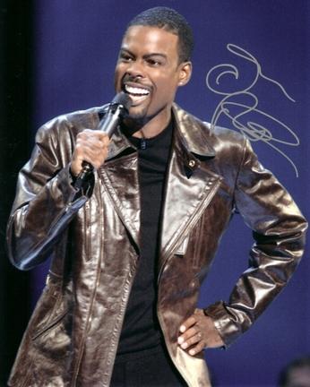 "Chris Rock Autographed 8"" x 10"" Photograph (Unframed)"