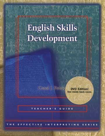 Cicso Independent BDVD180 Effective Interpreting - English Skills Development Teacher Set