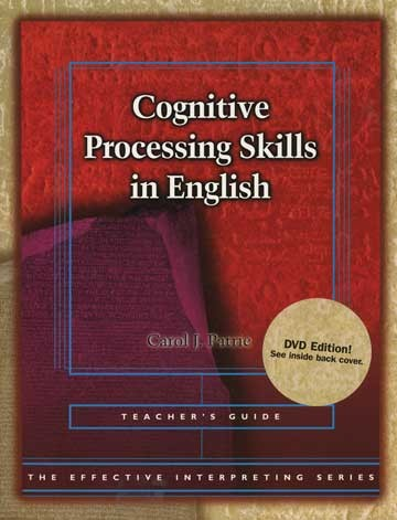 Cicso Independent BDVD182 Effective Interpreting - Cognitive Processing Skills in English Teacher Set
