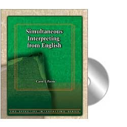 Cicso Independent BDVD215 Effective Interpreting - Simultaneous Interpreting from English Study Set