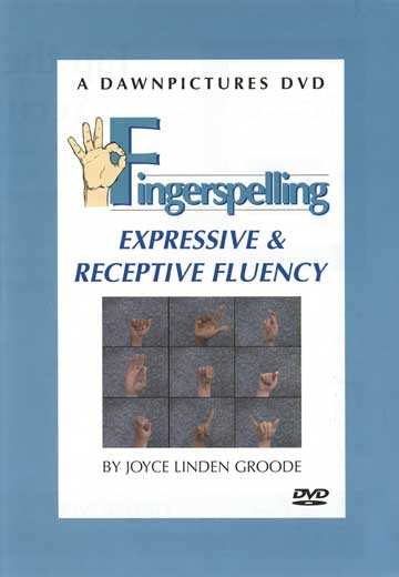 Cicso Independent DVD091 Finger Spelling Expressive and Receptive Fluency