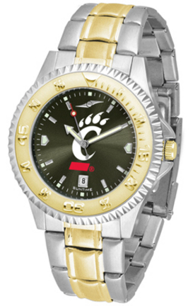 Cincinnati Bearcats Competitor AnoChrome Two Tone Watch