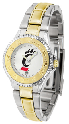 Cincinnati Bearcats Competitor Ladies Watch with Two-Tone Band