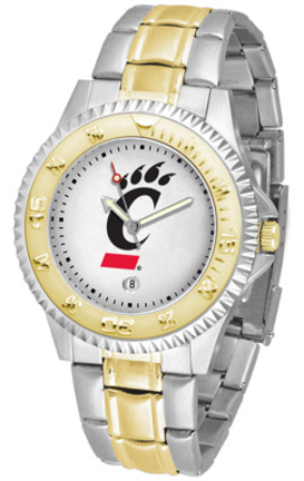 Cincinnati Bearcats Competitor Two Tone Watch