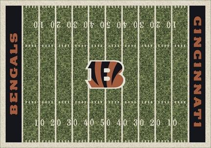 """Cincinnati Bengals 3' 10"""" x 5' 4"""" Home Field Area Rug"""
